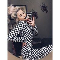 Checkered Past Onesuit