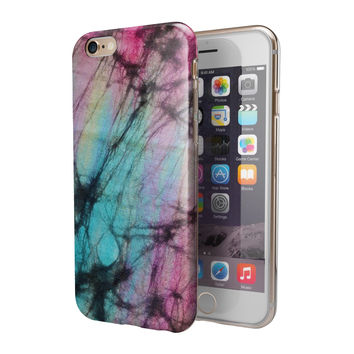 Fibrous Watercolor 2-Piece Hybrid INK-Fuzed Case for the iPhone 6/6s or 6/6s Plus