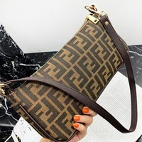 Fendi New fashion more letter shoulder bag women crossbody bag