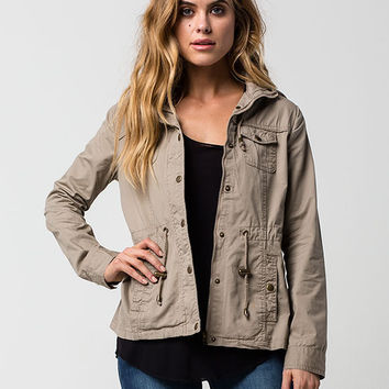 ASHLEY Twill Womens Anorak Jacket | Jackets