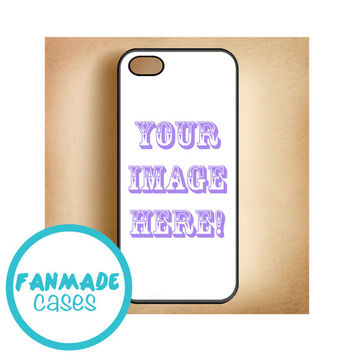 Custom iPhone 4/4s 5/5s/5c & iPod 4/5 Rubber Case