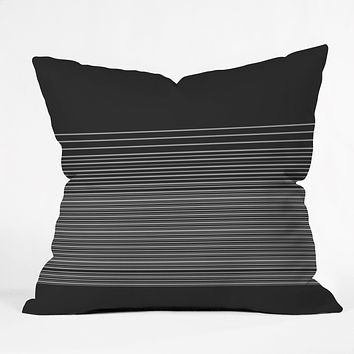 Matt Leyen Gradient Dark Throw Pillow