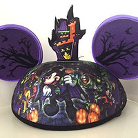 Disney Parks Exclusive Mickey Mouse and Pals Halloween Ears Hat Adult Size NEW