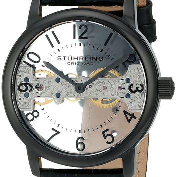 Stuhrling Original Men's 680.01 Legacy Analog Display Mechanical Hand Wind Black Watch: Amazon.ca: Watches