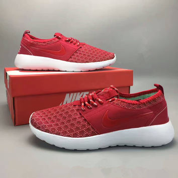 """NIKE"" Fashion Casual Honeycomb Gauze Hollow Breathable Women Sneakers Running Shoes"