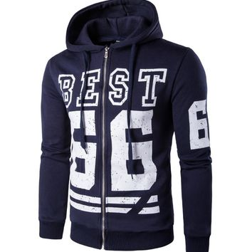 Stylish Casual Winter Hot Sale Men's Fashion Print Design Hoodies [10669406467]