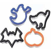 """Grippy Ghouls"" Cookie Cutters (4pc)"