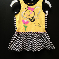 Little Baby Bumblebee Dress