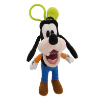 Disney Parks Goofy Big Face Plush Keychain New with Tags