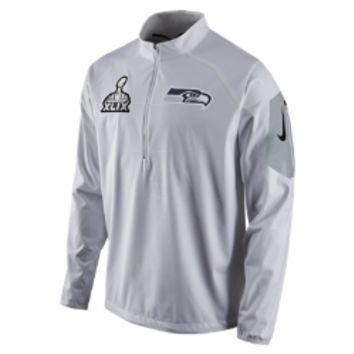 Nike Super Bowl Fly Rush (NFL Seahawks) Men's Training Top Size XXL (White)