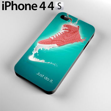 Nike Just Do IT Case For iPhone 4 / 4S, 5C, 5 / 5S NJ14