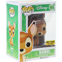 Funko Disney Bambi (Flocked) Pop! Vinyl Figure Hot Topic Exclusive