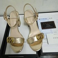 Trendsetter Gucci Fashion Women Heels Sandal Shoes