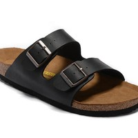 Men's and Women's BIRKENSTOCK sandals Arizona Birko-Flor 632632288-078