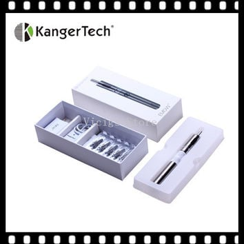 100% Original kangertech EMOW ecig kit 1300mah voltage battery kanger EMOW with 1.8ml airflow control kanger Mow atomizer