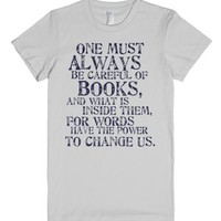 Tessa Gray Quote-Female Silver T-Shirt