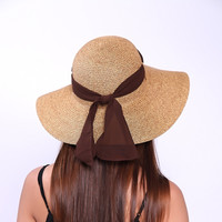 Casual Spring Summer Day Beach Hat for Women
