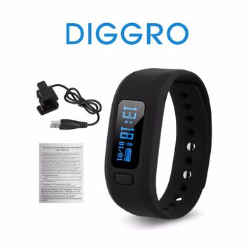 Original Diggro Moving UP2 Pedometer Fitness Tracker Sleep Monitor Bluetooth 4.0 Smart Watch Wristband For iPhone IOS Android