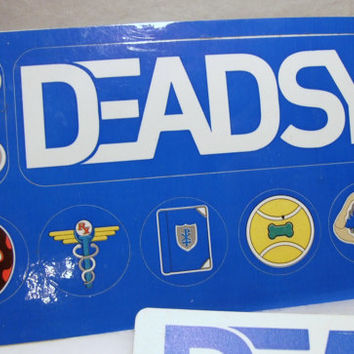 Deadsy Commencement 7 Stickers Official Logo