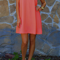 Nothing Could Break Us Dress: Coral | Hope's