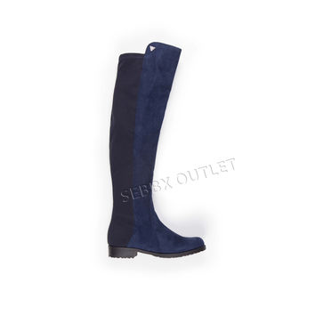 Guess Over the Knee Boots Chimara Dark Blue