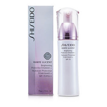 Shiseido SHISEIDO White Lucent Brightening Protective Emulsion W SPF 18 --75ml/2.5oz WOMEN