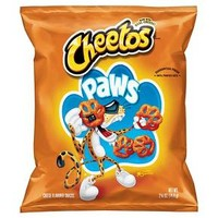 Cheetos Paws Cheese Flavored Snacks - 2.6oz