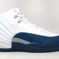 Air Jordan 12 Retro French Blue 2016 Basketball Shoes <>
