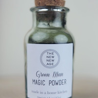 GREEN MAN Magic Powder - Spirulina, Wheatgrass + Chlorella