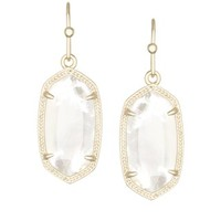 Dani Earrings in Ivory Pearl - Kendra Scott Jewelry
