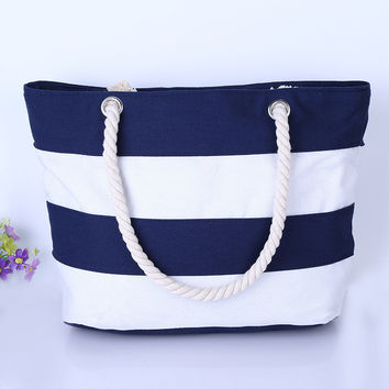Weekender-SarahRose Beach Canvas Bag
