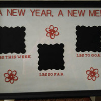 Weight loss plaque- weight loss motivator-new year gift- new year-new me gift