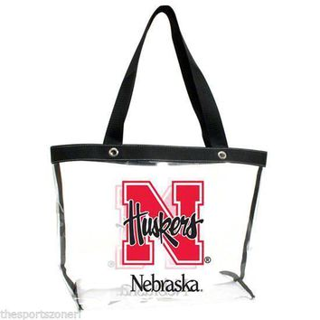 Nebraska Cornhuskers See All Clear Tote Bag