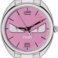 Silver & Pink Momento Bugs Watch