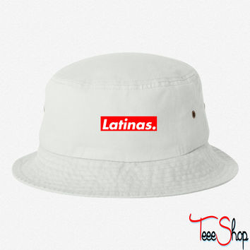 Latinas bucket hat