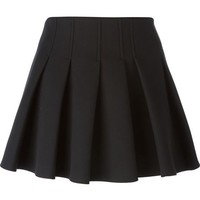 Alexander Wang Pleated Mini Skirt - Del Rosa Al Amarillo - Farfetch.com