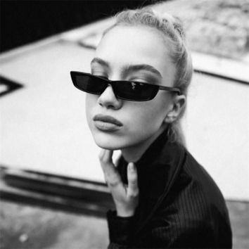 Cat Eye Sunglasses Women Fashion Small Frame Sun Glasses Ladies Retro Personality Cat Eyeglasses UV400