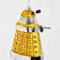 Sci-fi Dalek the Halls Ornament by ModCloth