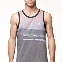 Matix Beached Tank Top - Mens Tee - Black