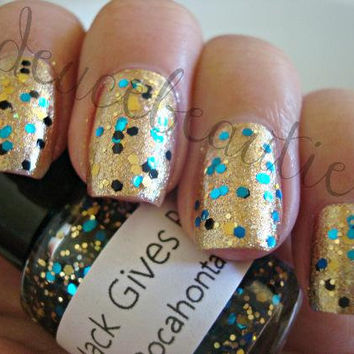 Pocahontas - Full Size (15ml/.5oz) Glitter Nail Polish
