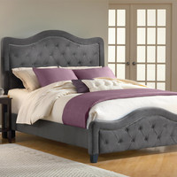 Trieste Queen Bed in Pewter