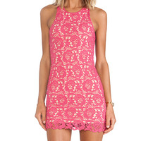 Lovers + Friends Radiant Dress in Pink