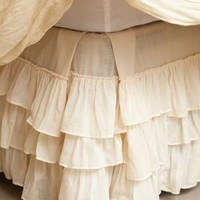 Pleated Ruffles Bedskirt