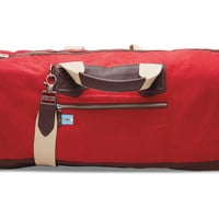 TOMS Small Chili Wax Canvas Trekker Duffel