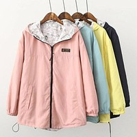 Reversible Rain Jacket [6 Variations]