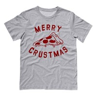 Merry Crustmas Pizza (Red) Shirt
