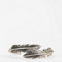 When Feathers Meet Cuff Bracelet - Urban Outfitters