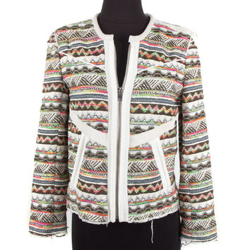 IRO Multi-Color Cotton Jacket