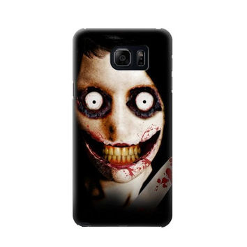 P1344 Jeff the Killer Phone Case For Samsung Galaxy S6 edge plus