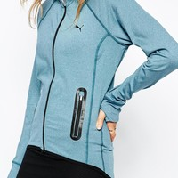 Puma Zip Front Track Top With Contrast Zip Detail
